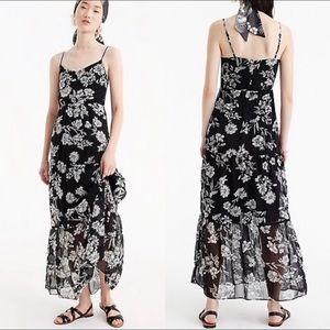 J. Crew Mercantile Maxi Dress Sz 0 Daisy Floral